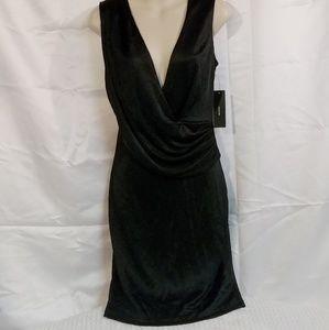 Lulu's Black Sleeveless Dress